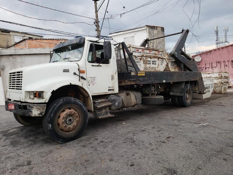 Caçamba de Entulho para Construtora Campo Belo - Caçamba de Entulho