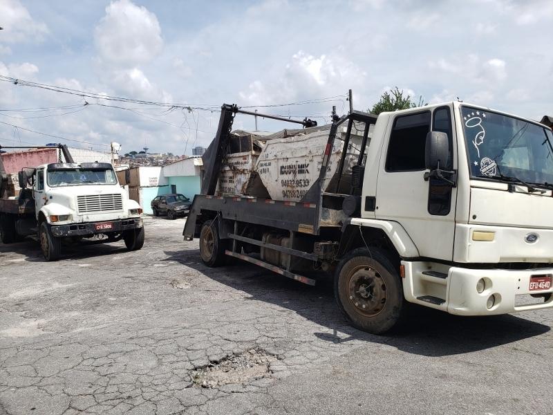 Caçamba para Entulho Grande Preço Campo Limpo - Container Entulho