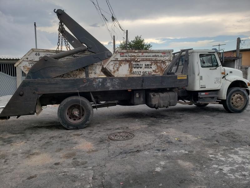 Companhia de Caçamba de Entulho com Caminhão Cupecê - Caçamba de Entulho