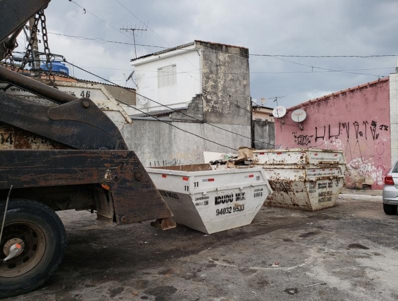Empresa de Caçambas de Entulho Ibirapuera - Caçamba de Entulho