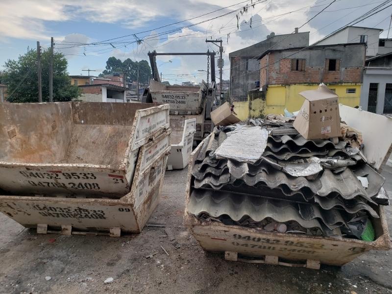 Locação de Caçamba de Entulho 4m Valores Jardim América - Locação de Caçamba de Entulho com Caminhão