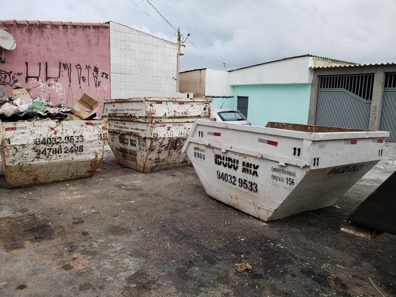 Locação de Container para Entulho Vila Lusitania - Caçambas para Entulhos