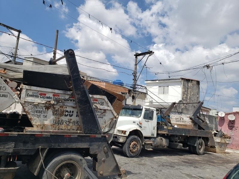 Preço de Caçamba Entulho Grande Fazenda Morumbi - Caçamba de Lixo