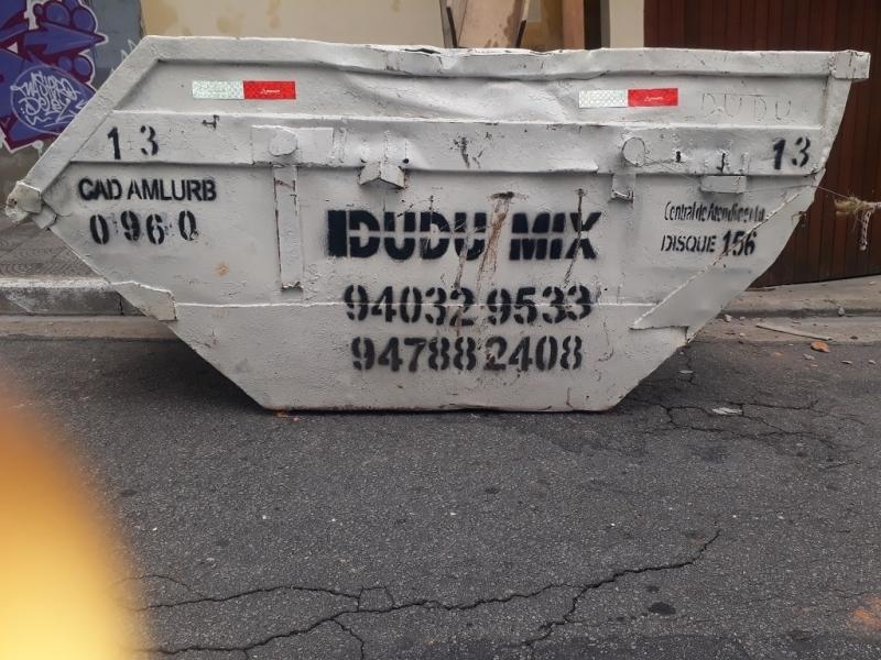 Preço de Container para Entulho Sacomã - Entulho Caçamba
