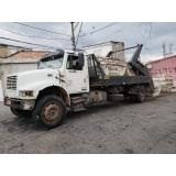 aluguel de caçamba de entulho com caminhão Jardim São Luiz