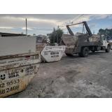 aluguel de caçambas de entulho com caminhão Brooklin