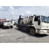 caçamba estacionária de entulho com caminhão preço Centro
