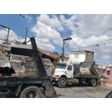 caçamba estacionária para construtora preço Parque Dom Pedro