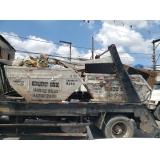 caçambas de lixo plástico Campo Belo