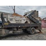 caminhão para caçamba de lixo valor Sé