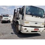 caminhão para caçamba de lixo Sé