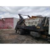 caminhão para caçambas de lixo Fazenda Morumbi