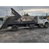companhia de caçamba de entulho com caminhão Água Espraiada