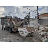 container para entulho valor Vila Morumbi