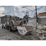 empresa de caçamba de entulho para demolição Sacomã