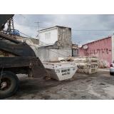 empresa que faz locação de caçamba de entulho 4m Vila Clementino