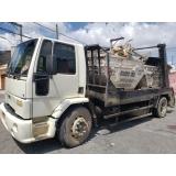 empresa que faz locação de caçamba de entulho com caminhão Pedreira