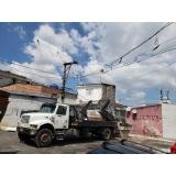 preciso de caminhão para caçamba de lixo Cidade Dutra