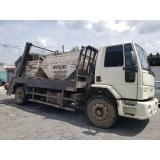 prestadora de locação de caçamba de entulho com caminhão Região Central